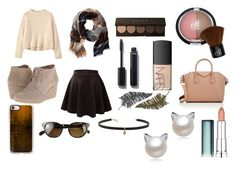 """""""October breeze"""" by fashionisminej ❤ liked on Polyvore featuring TravelSmith, Toast, TOMS, Chanel, NARS Cosmetics, Givenchy, Maybelline, Carbon & Hyde, Paperself and Oliver Peoples"""