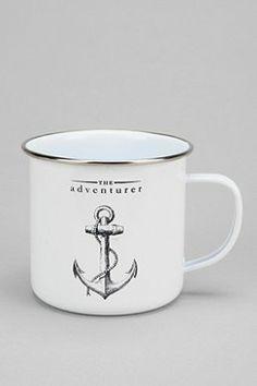 The Adventurer Enamel Mug $14