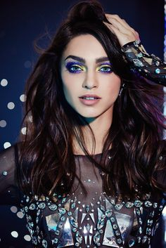 Zhenya Katava by Jamie Nelson for Urban Decay Winter Makeup by Lottie Jamie Nelson, Hair Again, Beauty Junkie, Kiss Makeup, Make Me Up, Runway Models, Urban Decay, Girly Things, Makeup Looks