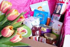 Mamablog Geschenk zur Geburt für Mama Mutter werdende Mutter Schwanger Schwangerschaft Geschenkidee SOS Box