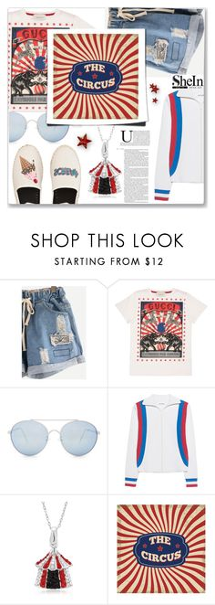 """""""Circus"""" by peta-5 ❤ liked on Polyvore featuring Gucci, Quay, Circus Hotel, Circus by Sam Edelman and Nicole"""