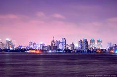 Mumbai skyline, India