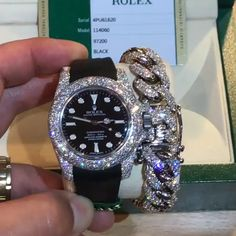 In some cases part of that image is the quantity of money you invested to use a watch with a name like Rolex on it; it is no secret how much watches like that can cost. Breitling, Gold Case, Gold Diamond Watches, Diamond Life, Luxury Watches For Men, Beautiful Watches, Watch Brands, Luxury Jewelry, Quartz Watch
