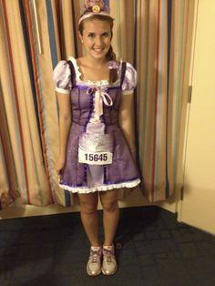 My Rapunzel Costume Disney Princess Half Marathon 2014!