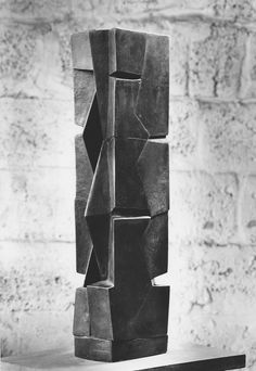 europeansculpture:  Joachim-Fritz Schultze-Bansen - Kanon, 1970