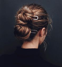 Twisted Updo Hairstyle for Black Hair - 50 Updo Hairstyles for Black Women Ranging from Elegant to Eccentric - The Trending Hairstyle Office Hairstyles, Summer Hairstyles, Bun Hairstyles, Pretty Hairstyles, Hairstyle Ideas, Wedding Hairstyles, Perfect Hairstyle, Hairstyles Pictures, Updo Hairstyle