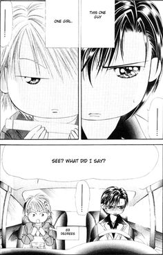 Skip Beat....Look at his flushed, pouty face hahaha