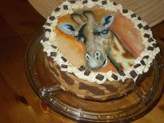 Dekor-Biskuit Giraffen-Torte