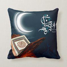 Shop Ramadan Al Adha and Fitr Throw Pillow created by SimplyLOVELYsweet. Ramadan Gifts, Ramadan Mubarak, Ramadan Images, West Lafayette, Ramadan Decorations, Handmade Home, Christmas Card Holders, Islamic Art, Custom Pillows