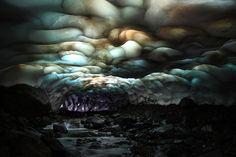 Caverna de gelo de Kamchatka, Sibéria