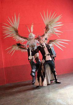 Garuda and a Summoner (Final Fantasy XIV)