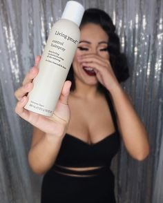 We asked our stylist of the month, Patte Luna, what her go-to product was, and she said Living Proof's Control Hairspray! The hold is perfect- not too hard, not too flexible- and it's not crunchy or sticky. Control is also perfect to use for every hair type, from taming flyaways to keeping your hair looking freshly blown out all night! #beblownaway #oc #ocstyle #ocstylists #ocmua #ocwomen #ochair #livingproof @l