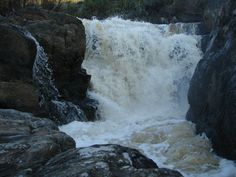 Beautiful waterfalls here at Eagle Falls Lodge in the Western Cape South Africa Family Units, Beautiful Waterfalls, South Africa, Eagle, Holidays, Outdoor, Outdoors, Holidays Events, Holiday