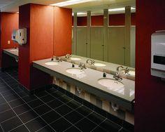 Bathroom sinks commercial