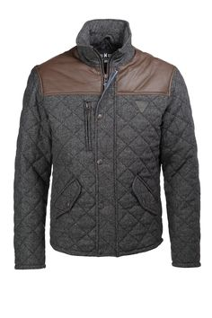 Woll-Mix Steppjacke EDC - Esprit Online-Shop