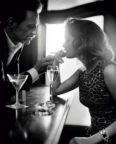 Louise Grinberg by Vincent Peters for Vogue Italia