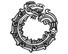 Mayan Ouroboruos Tattoo