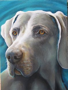 Commissioned Paintings | Dog Painting Artist - Ed Hofer