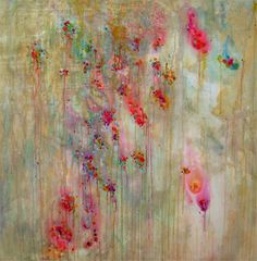 Vicky Gonart. Interesting drips and colors