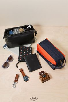 The best travel essentials for the modern day man. Get him (or yourself) a Valentine's Day gift they'll use time and again. Shop shaving kits, leather wallets, classic watches, and more in our men's gift guide.