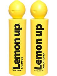 LemonUp® Shampoo and Conditioner Still Leave Your Hair Lemony Fresh and Clean