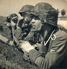 Waffen SS on the Western Front.