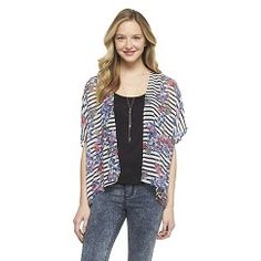 Dolman Kimono Top Lipstick Pink/Off White XL - 3Hearts Get unbelievable discounts at Target with coupon and Promo Codes.