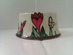 Crocus Ware Sugar Bowl