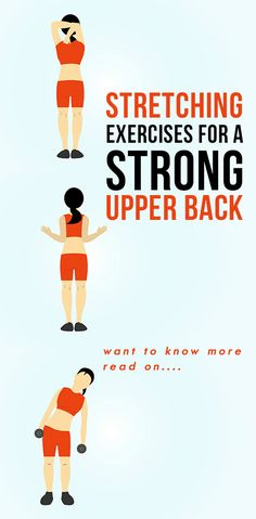 Do These 5 Amazing Stretching Exercises For A Strong Upper Back Our backs suffer a lot—just ask those who spend hours in front of the PC without any physical exercises. Fret not, as practicing back extension exercises can be of help Upper Back Strengthening Exercises, Back Extension Exercises, Lower Back Pain Stretches, Upper Back Muscles, Upper Back Pain, Back Pain Exercises, Neck And Back Pain, Stretching Exercises, Neck Pain