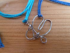 Metal puzzle friendship necklace #craft #jewelry #soldering