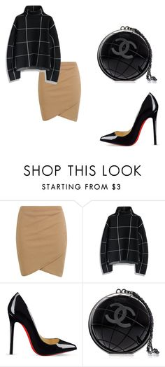 """""""Untitled #36"""" by nicantipoo on Polyvore featuring Chicwish, Christian Louboutin and Chanel"""