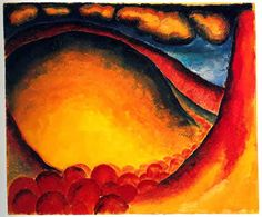 Discusses the life of Georgia O'Keeffe, her biography, thoughts and motivations, and her painting style. Description from lupaintin.com. I searched for this on bing.com/images