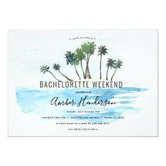 Beach Bachelorette Itinerary Invitation Bachelorette Itinerary, Bachelorette Party Planning, Beach Bachelorette, Bachelorette Party Invitations, Wedding Reception Invitations, Wedding Rsvp, Wedding Invitation Cards, Wedding Cards, Destination Wedding