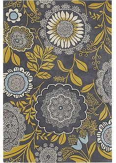 Chandra Rugs Chandra Amy Butler AMY13211 5' x 7'6 Area Rugs