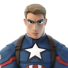 Captain America getting a makeover, punching everyone in the face next March 3d Model Character, Game Character Design, Character Modeling, Character Concept, Character Art, Animation, Cartoon Disney, Disney Pixar, Disney Infinity Characters