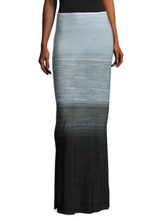 Obie Long Skirt by Norma Kamali at Gilt