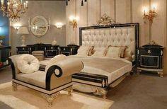 elegant and luxury master bedroom interior design