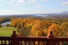 view from  Olana- Frederic Church's home (Hudson River School artist)