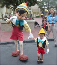 Pinocchio and mini-Pinocchio
