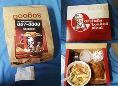 kfc delivery! nothing beats a fully loaded meal like the one in kfc!:)))