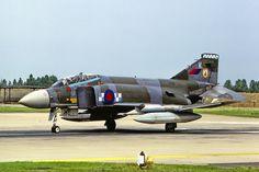 Phantom FGR 2. 19 Sq. RAF Wildenrath, Germany. Sept. 1984