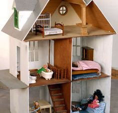 Doll houses are usually associated with somewhat older girls but toddlers of both genders can have fun playing with the furniture and dolls.  Obviousl...
