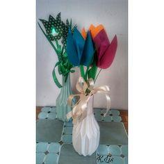 Po prostu K.Lis: 🌷 Papierowe tulipany 🌷 Wersja druga