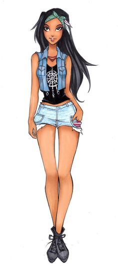 High School | Pocahontas by Connie-Faye Dyer [©2014 Nina-D-Lux]