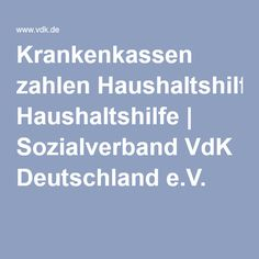 Krankenkassen zahlen Haushaltshilfe | Sozialverband VdK Deutschland e.V.