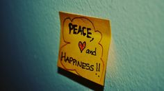 Peace+Happiness = what a combo...:)