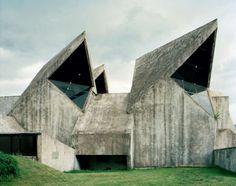 striking retro-future-ish memorial sculptures shot by Jan Kempenaers in the former Yugoslavia region.