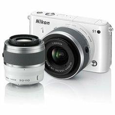 Nikon 1 S1 10.1 MP HD Digital Camera w/ VR Lenses $239.95 ($560.04 Savings) Free Shipping