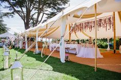 The Oyster Pearl makes an ideal ceremony area, or reception tent in conjunction with the Pearl tents, or as a stand-alone structure option.