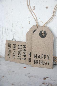 Label Happy Birthday